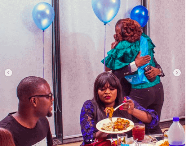 Photo of Funke Akindele, JJC Skillz, others step out for Kate Henshaw's birthday party (more photos)