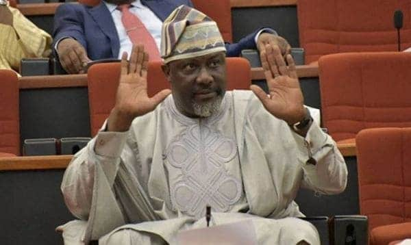 Photo of Police breaking my house doors with tool boxes – Dino Melaye