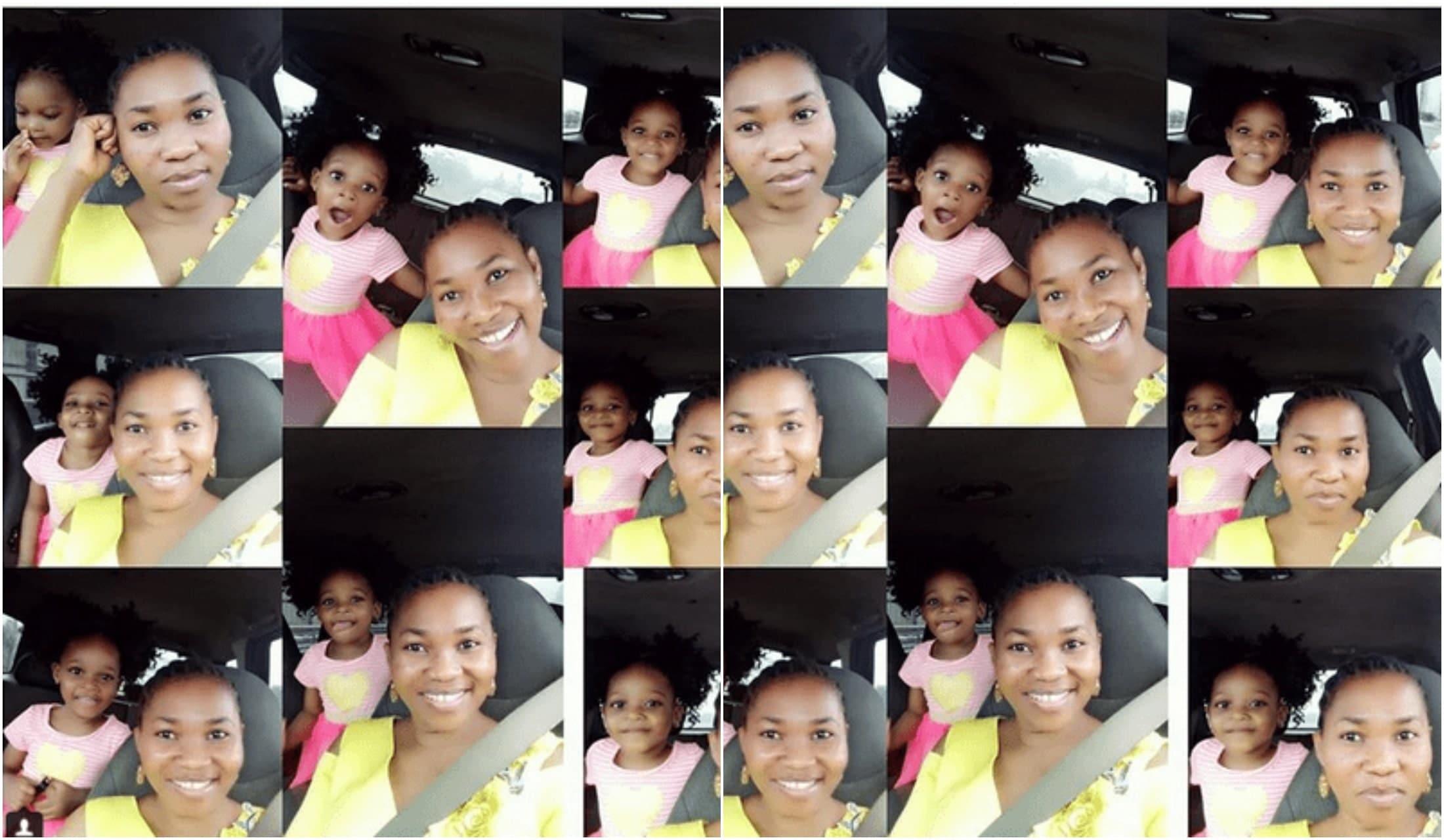Yewande Adekoya shares new photos of her daughter
