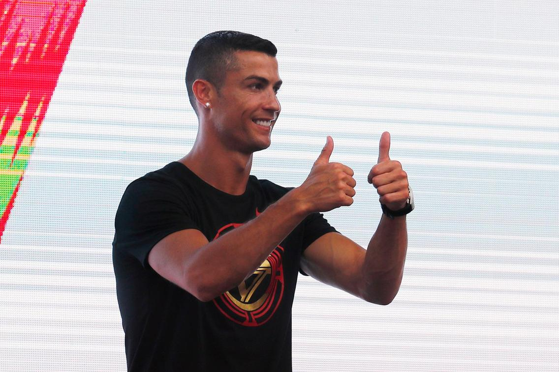 Ronaldo: How fans welcomed him to China during his CR7 tour (Photos)