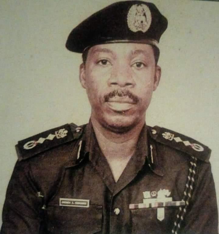 Former Inspector General of Police Ibrahim Ahmadu Commassie is dead