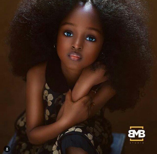 Photo of Meet the 5-year-old Nigerian touted as the most beautiful girl in the world