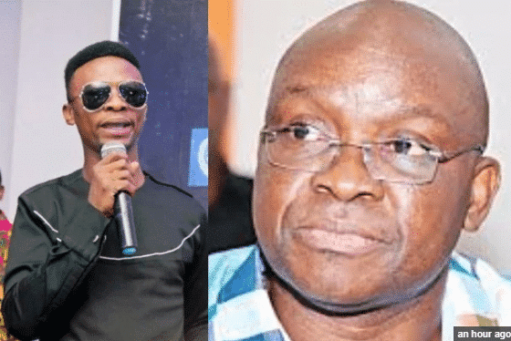 Photo of Comedian I Go Dye mocks Fayose, says he deserved to be tear-gassed