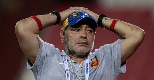 Maradona apologizes for his outburst at FIFA over Colombia Vs England match