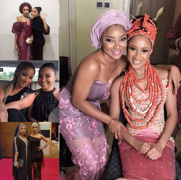 Photo of Adesua Etomi writes lovely message to celebrate Linda Ejiofor's birthday