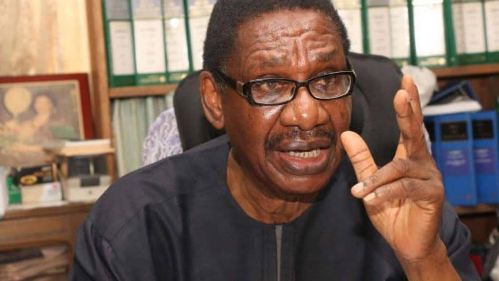 Photo of Members of Reformed APC are like herdsmen looking for where to chop – Sagay