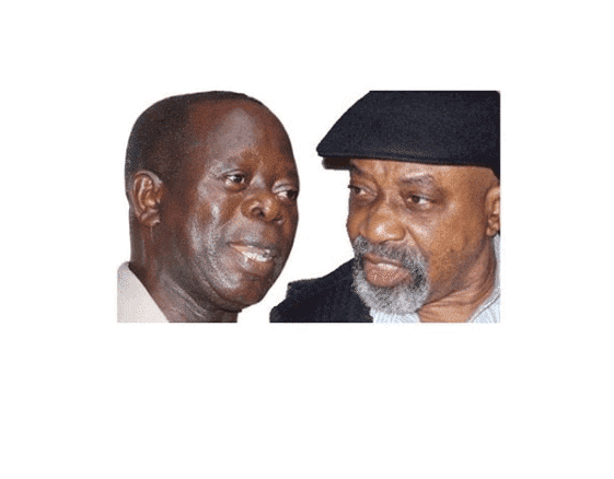 Photo of If the president condones disrespect, I don't -Oshiomhole threatens Ngige