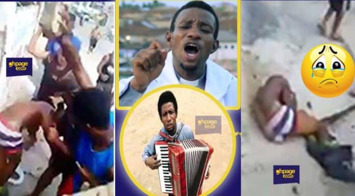 Photo of Ghanaian gospel singer beaten and stripped unclad after entering his girlfriend's room