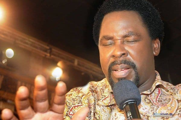 Pray against interruption of democracy in Nigeria - T.B Joshua says