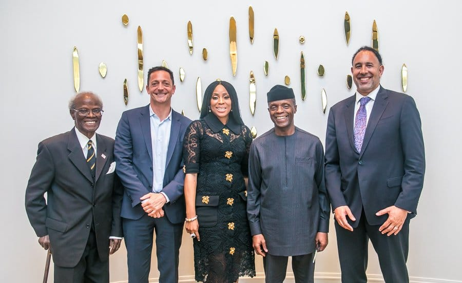 Photo of Osinbajo, 2face, Mo Abudu and others visit Hollywood and Silicon Valley (Photos)