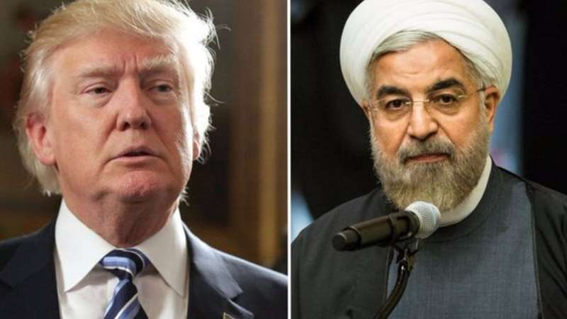 President Trump issues stern warning to the president of Iran