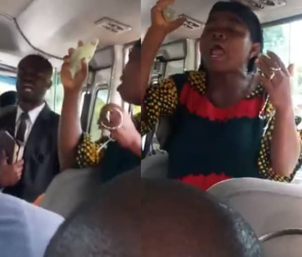 Photo of Catholics and Protestants fight inside bus in Anambra state