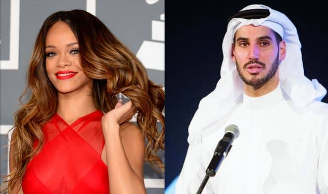 Photo of Rihanna and her Saudi billionaire boyfriend pictured having a heated argument