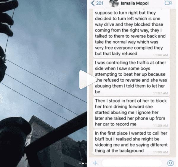Police officer accused of slapping Korra Obidi