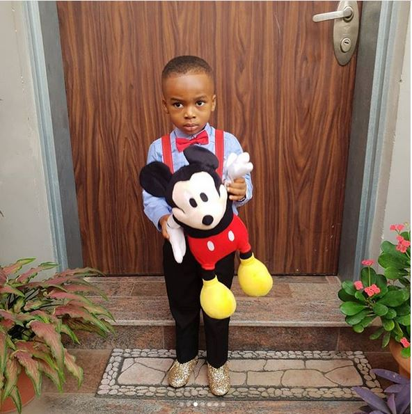 Tonto Dikeh celebrates her son as he graduates from pre-school (Photos)