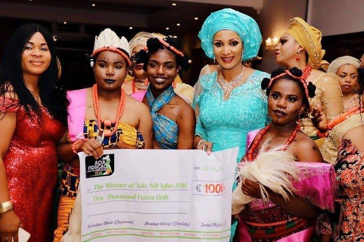 Bianca Ojukwu stuns at Igbo cultural extravaganza in Dublin, Ireland