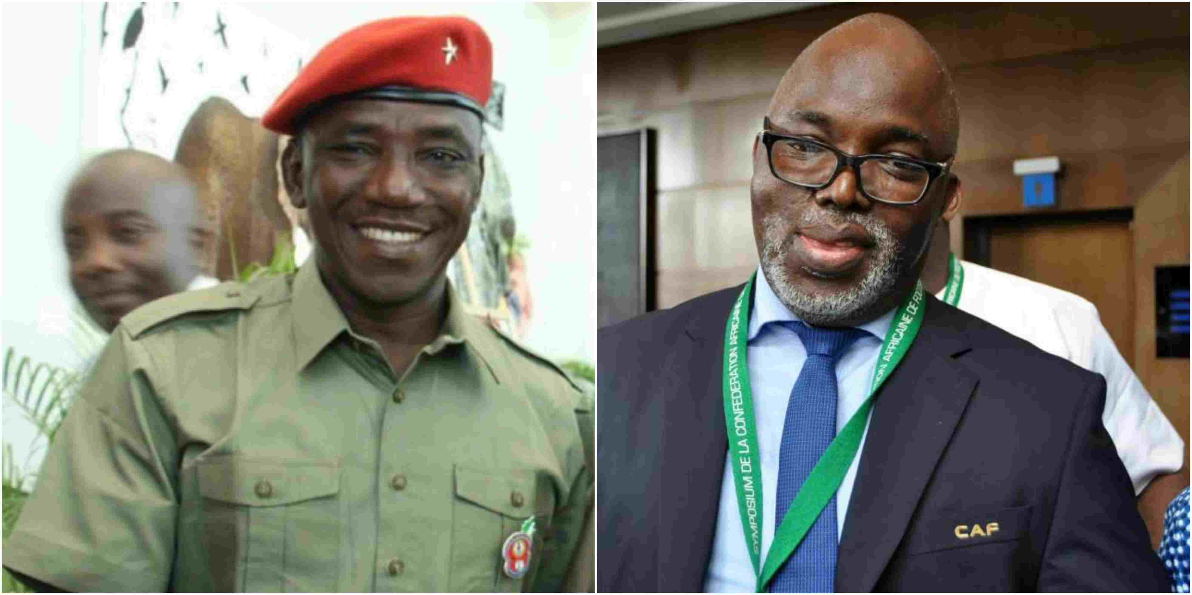 Photo of Solomon Dalung orders Amaju Pinnick to step down as NFF boss
