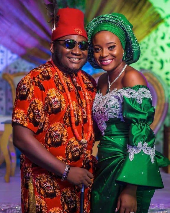 Ajebo: Traditional wedding of comedian and his bride Uchechi