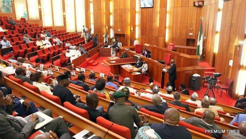 Photo of Kwankwaso, Dino Melaye and 14 other senators decamp from APC to PDP
