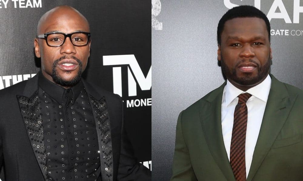 Photo of 50 Cent's son takes sides with Floyd Mayweather against his father