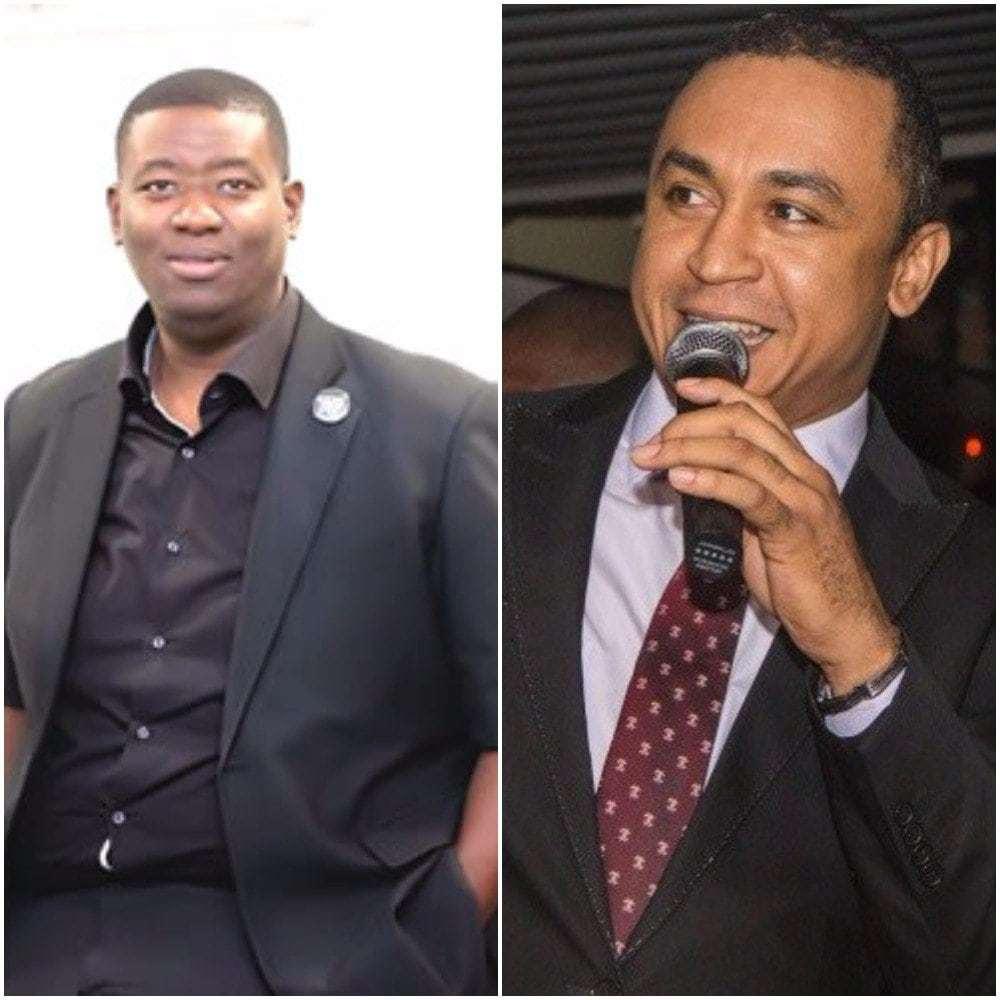 Daddy Freeze replies Pastor Adeboye's son, Leke Adeboye