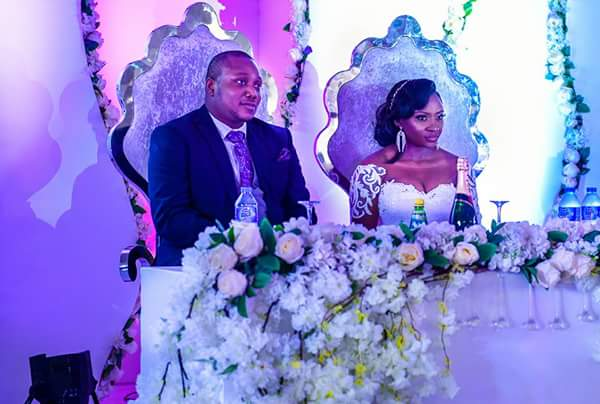 Governor Ishiaku: Top politicians present as son weds his beautiful bride