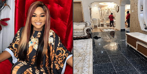 Pictures of the interior of the new house actress Mercy Aigbe bought