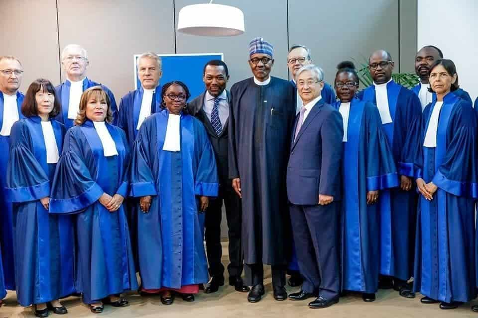 President Buhari speaks at 20th anniversary of the International Criminal Court