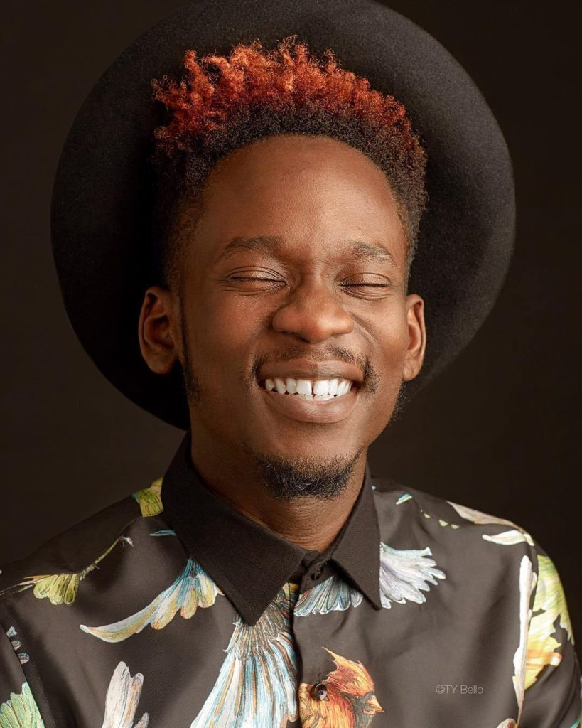 What Mr Eazi's brother did after killing a snake that bit him