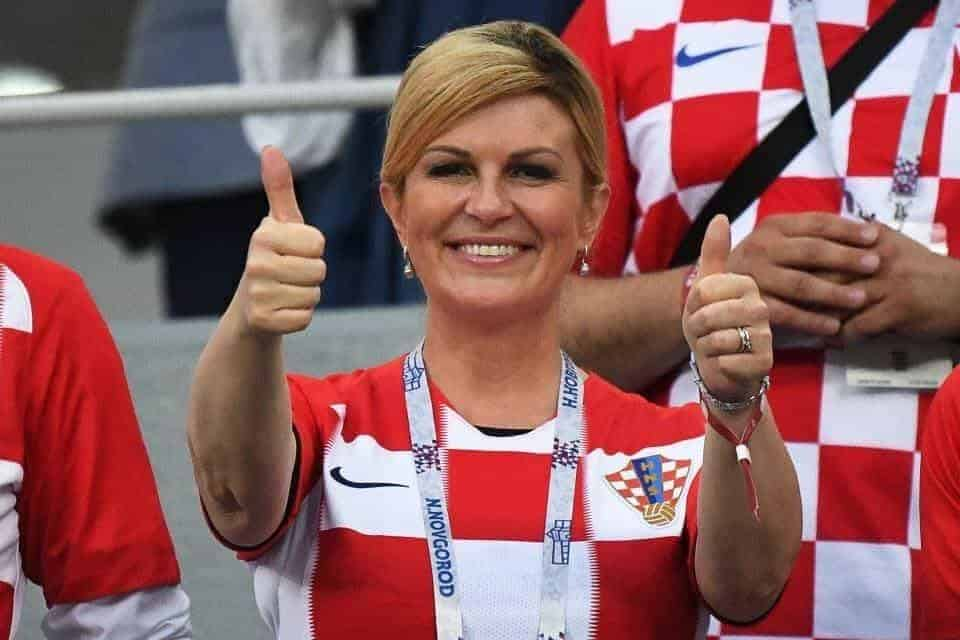 Photo of Photos of the husband of female Croatian president who won many hearts at the world cup final