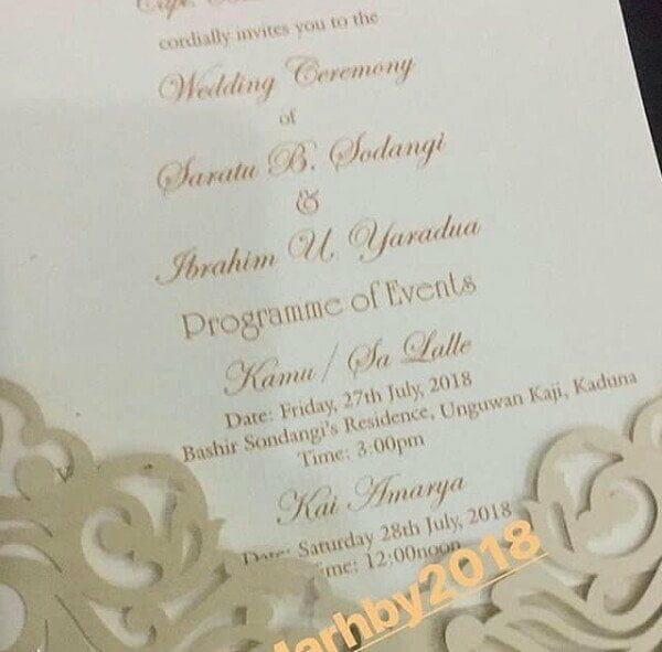 Ibrahim Yar'adua set to marry