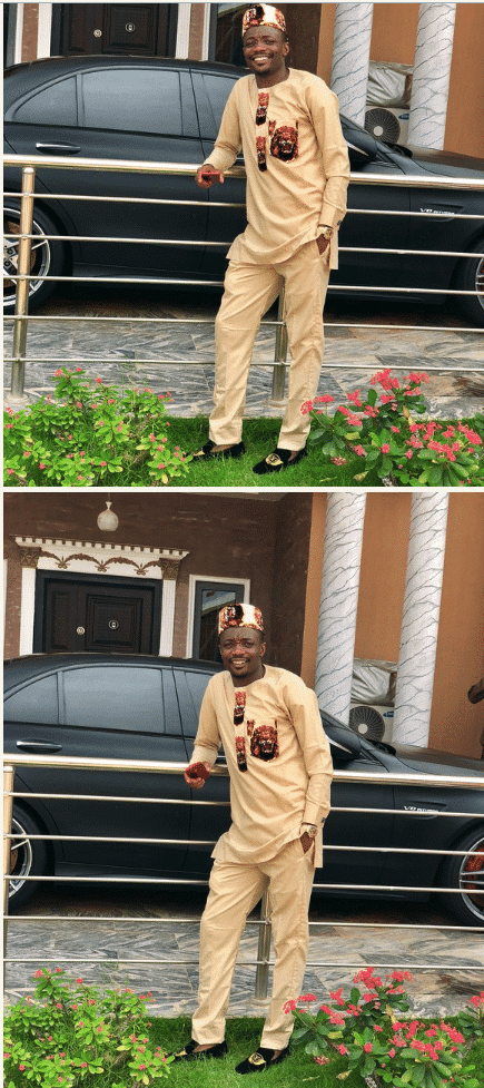 Ahmed Musa traditional outfit