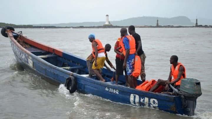 Photo of Five die as boat capsizes in Lagos