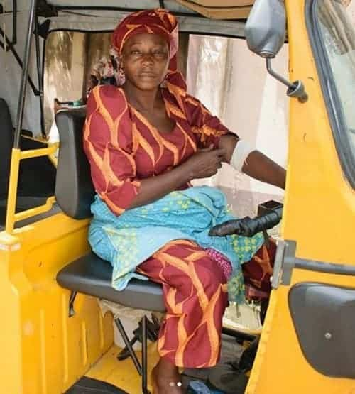 Photo of Inspiring story of widow who rides a Keke Napep for a living (photos)