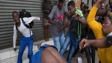 Photo of Xenophobia: South Africans continue looting Nigerians' shops