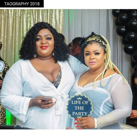 Faithia Balogun shuns Dayo Amusa's pyjamas party