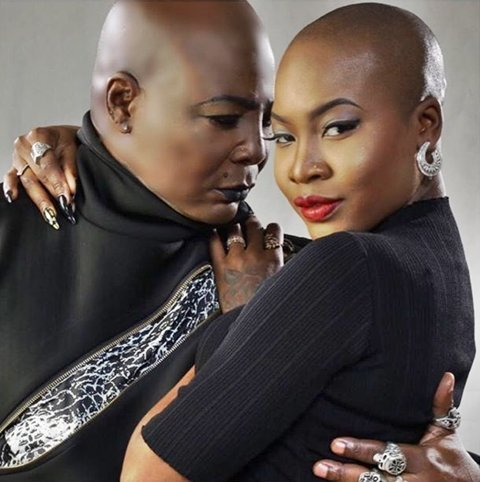 Charly Boy's daughter slams him for supporting her for being a lesbian