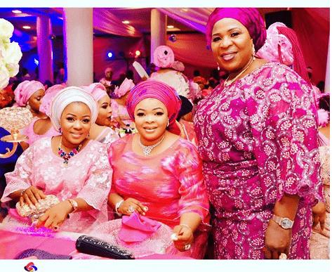 Photo of How Yinka Quadri, Liz Da Silva, Dayo Amusa, Pasuma stormed MC Oluomo's daughter's wedding introduction (photos)