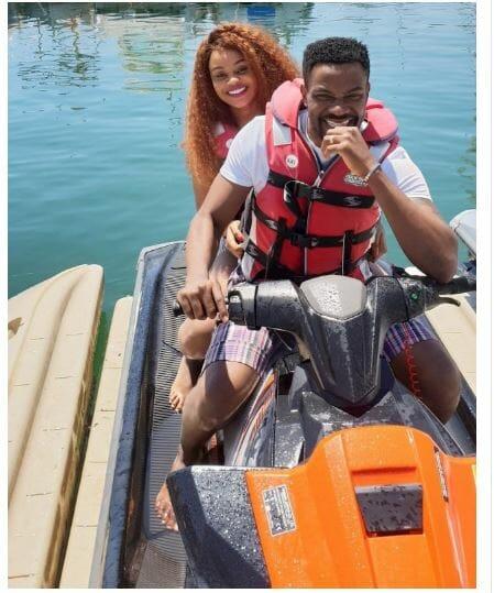 Ebuka Obi-Uchendu and wife, Cynthia