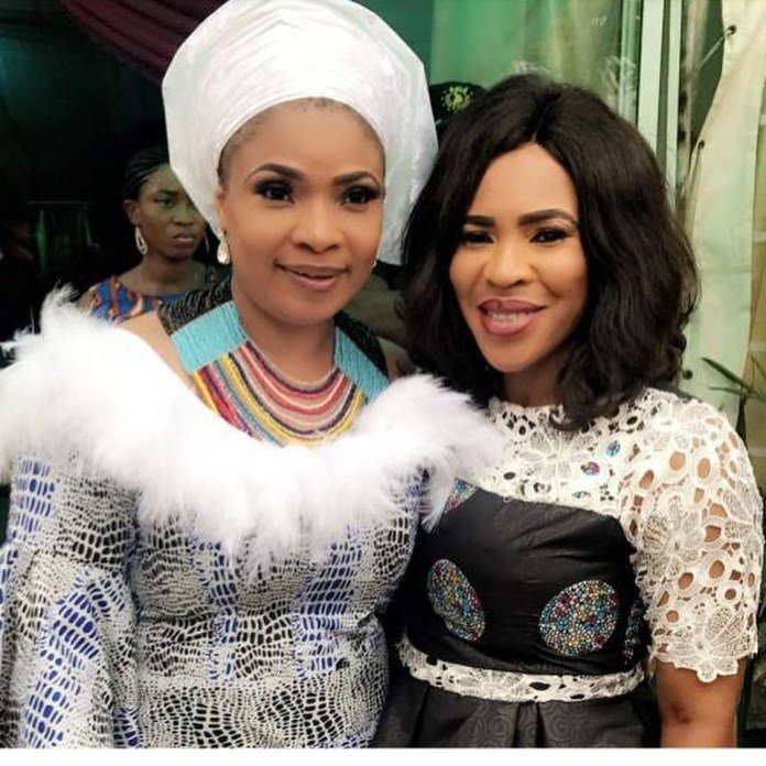 Photo of Mercy Aigbe, Laide Bakare, Ayo Adesanya, Ronke Odusanya, Bimbo Thomas, others attend Faithia Williams' mother burial ceremony (photos)
