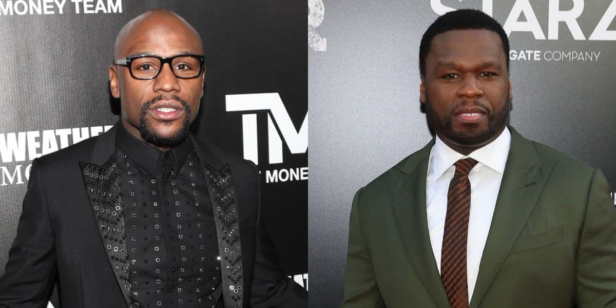 """Photo of """"You are a certified snitch… quick to gossip like a b**ch"""" – Floyd Mayweather rips 50 cent apart"""