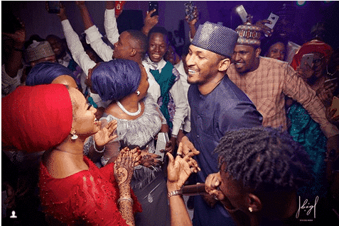Photo of All the colorful photos from Hauwa Indimi and Mohammed Yar'adua's grand wedding