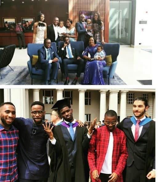 Governor Okowa's son graduates