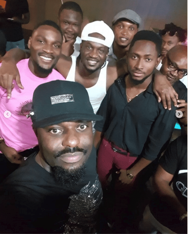 Photo of Jim Iyke, Tobi, Miracle, Timaya, Phyno spotted at Nathan and Nadia's birthday bash