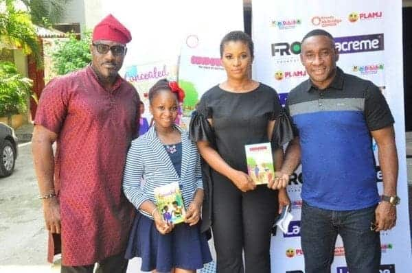 Photo of 10 year old Munachi Mbonu, launches two books titled, Concealed & Chidubem