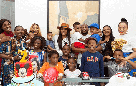 Photo of BBNaija's Tobi, Alex, Annie Idibia, Anita Okoye, attend Ubi Franklin's house party for son's birthday (photos)