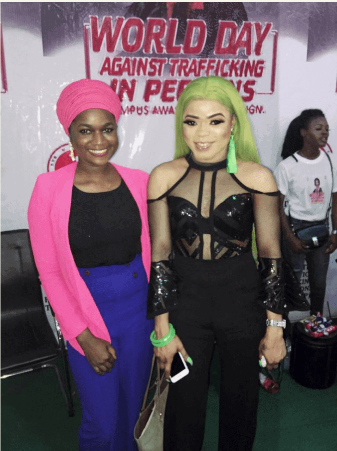 """Photo of """"He is a dysfunctional obnoxious gay man,"""" Filmmaker disgraces his Muslim friend for posing with Bobrisky"""