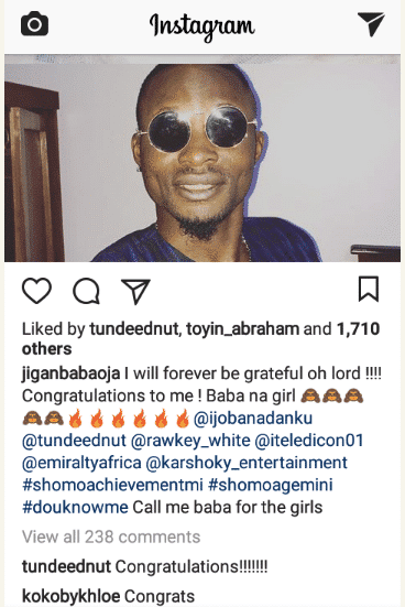 Jigan Babaoja welcomes a baby girl