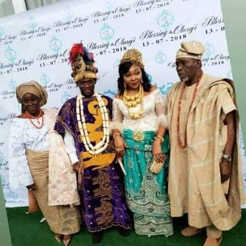 Photo of My wedding cost over N10million' – Joke Silva and Olu Jacob's Daughter-In-Law, Blessing Douglas