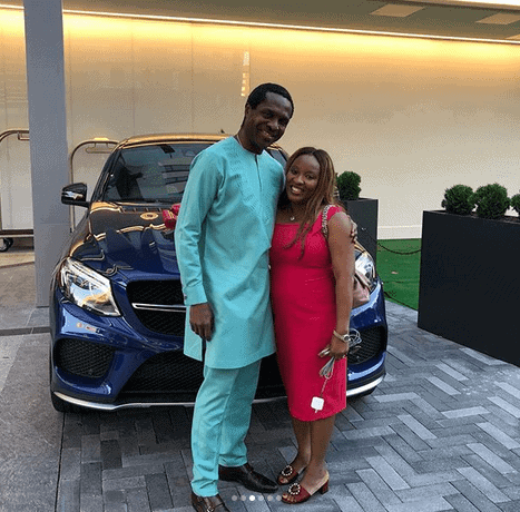 Photo of How Tonye Cole surprised his wife Sylvia on their 23rd Wedding Anniversary